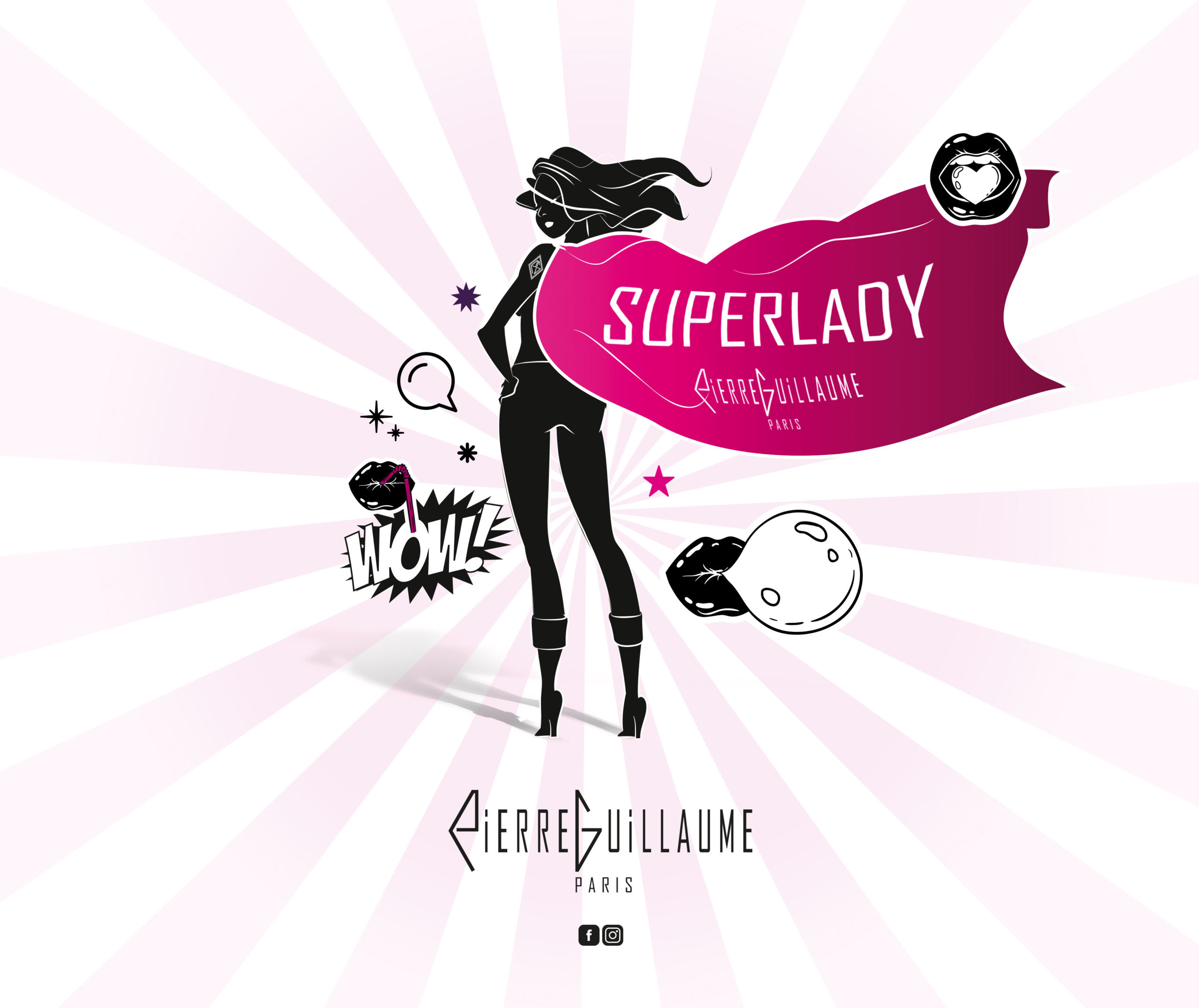 SUPERLADY – COLLECTION PIERRE GUILLAUME NOIRE