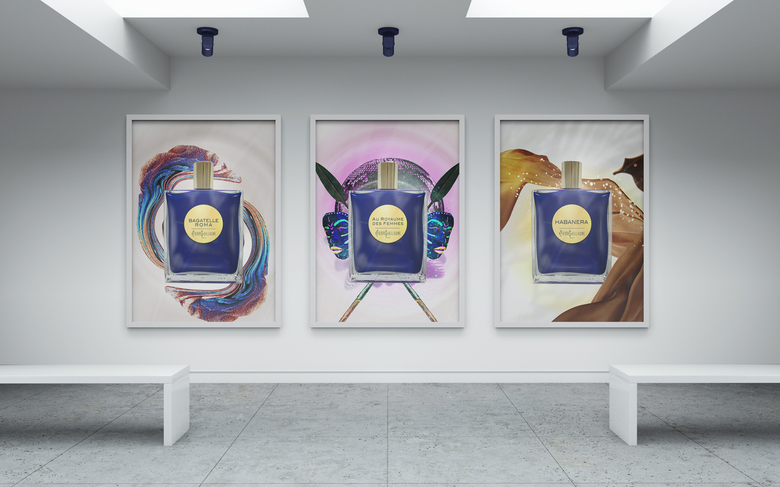 Pierre Guillaume contemplation, gamme de parfums, Haute Parfumerie, Pierre Guillaume Paris