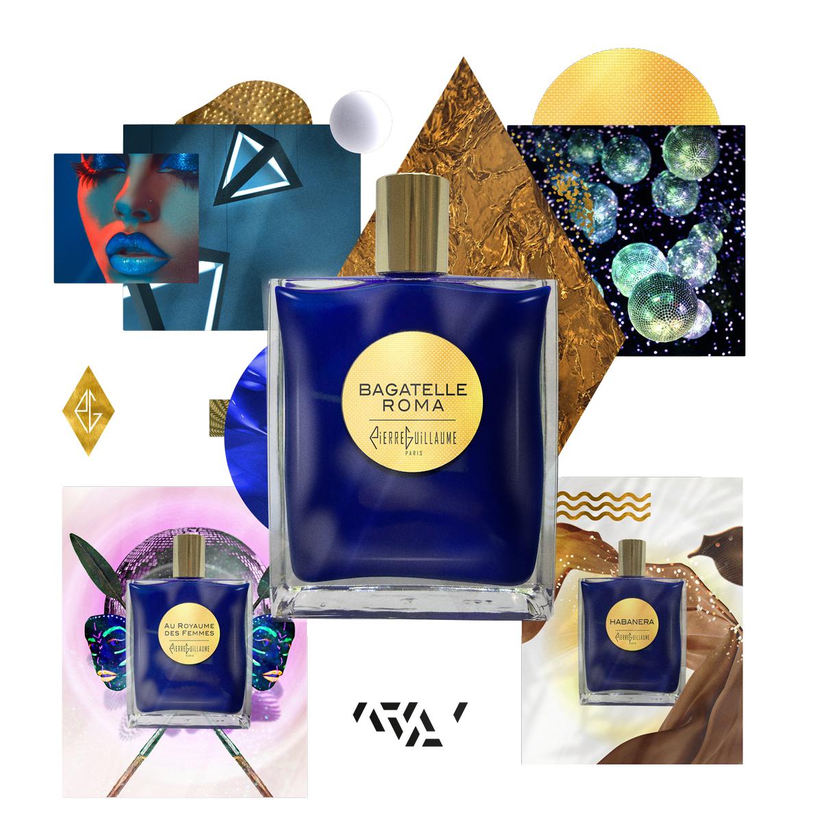 Pierre Guillaume Paris - Pierre Guillaume Contemplation, parfums d'exception de haute parfumerie, bouteille bleue Klein