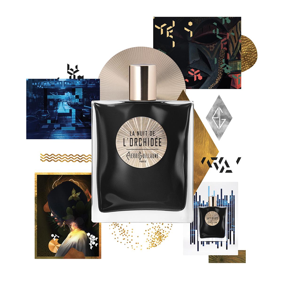 Pierre Guillaume Paris - Pierre Guillaume Confidentiel, des parfums modernes et urbains dans leur bouteille noire ornée d'un blason dorée constellé de lumière